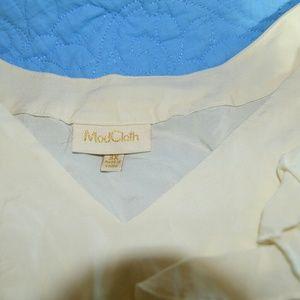 Blouse/ sleeveless MODCLOTH